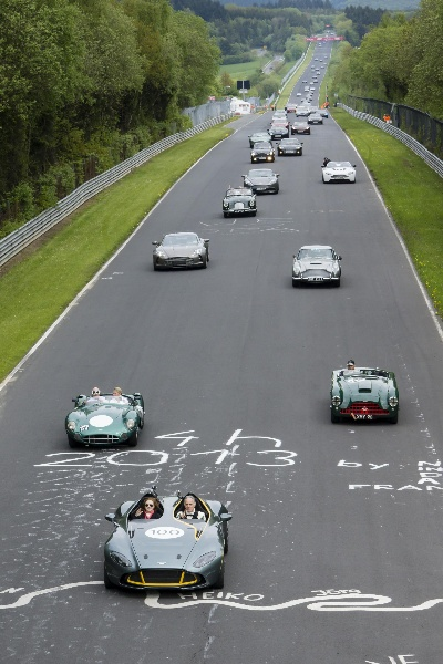 Aston Martin Wows The Crowds At Nürburgring 24 Hours