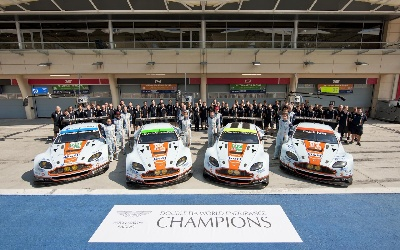 ASTON MARTIN WINS IN SAO PAULO TO END SUCCESSFUL 2014 SEASON