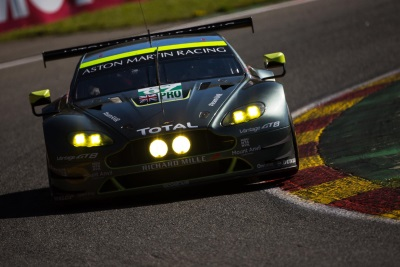 ASTON MARTIN RACING TAKES POLE POSITION FOR 6 HOURS OF SPA-FRANCORCHAMPS