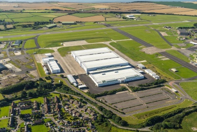 Aston Martin In St Athan: Work Begins On Conversion Of 'Super Hangars'
