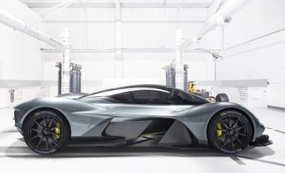 Michelin Announced As Tyre Partner For Aston Martin Valkyrie