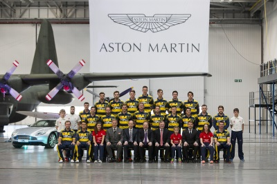 Aston Martin Heading For A Good Innings In Wales