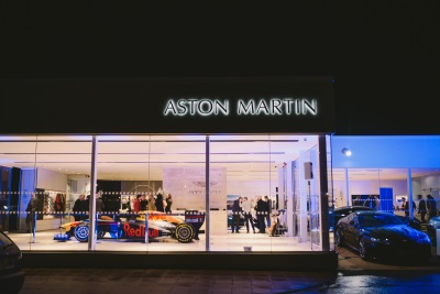 Aston Martin Wilmslow Opens Extensively Refurbished Showroom