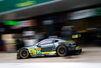 Aston Martin Racing Fighting Fit For 'Spa-Rring' Match