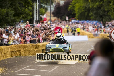 Aston Martin Goes Big In Little Vantage At Red Bull Soapbox Race