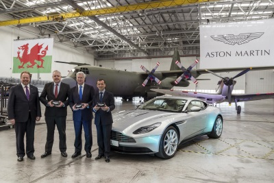 Aston Martin Starts Conversion Of St Athan Facility Ahead Of SUV Production In 2019