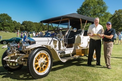 INAUGURAL ATLANTA CONCOURS HIGH ON PRESTIGE WITH CARS OF PROVENANCE INCLUDING AMELIA & PEBBLE BEACH AWARD WINNERS