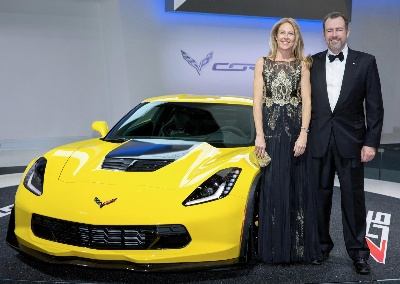 AUCTION OF FIRST 2015 CHEVROLET CORVETTE Z06 TO BENEFIT KARMANOS CANCER INSTITUTE