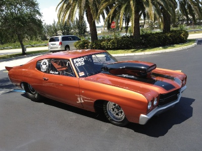 Auctions America's Auburn Fall Sale Features 1970 Chevrolet Chevelle SS Pro Mod to Benefit Darrell Gwynn Foundation
