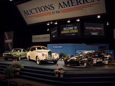 Auctions America Posts Banner Results for Auburn Spring Auction with $10.2 Million in Sales