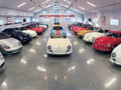 Auctions America Presents Renowned JLG Autocrib Porsche Collection 'Without Reserve'