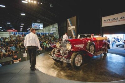 Auctions America Continues Strong Labor Day Tradition with $21.55 Million in Sales and Record Crowds at Auburn Fall