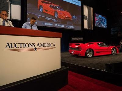 MODERN SUPERCARS LEAD AUCTIONS AMERICA'S $14.2 MILLION SANTA MONICA SALE