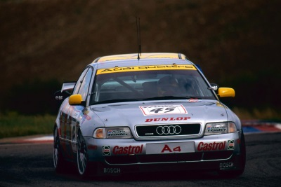 TO BE FRANK, THE AUDI A4 QUATTRO SUPERTOURER IS BACK ON TRACK!
