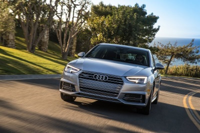 2017 Audi A4 ultra offers highest EPA-estimated fuel economy in competitive segment