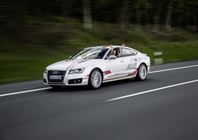 PILOTED AUDI A7 SPORTBACK GOES TO FINISHING SCHOOL