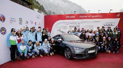 Audi starts Alpine World Championship season in Sölden