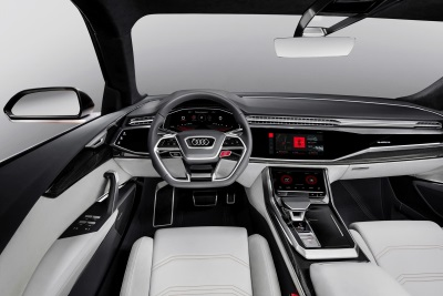 Audi Showcases Fully Integrated Android Operating System In Q8 Sport Concept