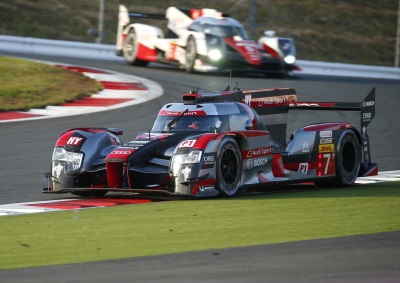 FIFTH POLE POSITION THIS SEASON FOR AUDI AT FUJI
