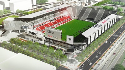 New D.C. United Soccer Stadium To Be Named Audi Field