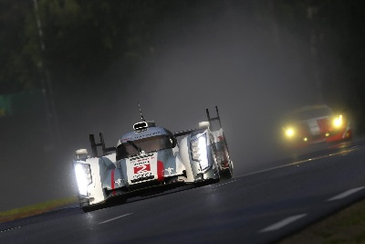 PARTING AT THE PINNACLE: AUDI DRIVER ALLAN MCNISH ENDS LMP CAREER