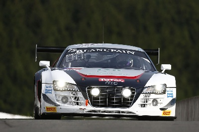 POLE POSITION FOR AUDI DRIVER LAURENS VANTHOOR IN HOME ROUND AT SPA