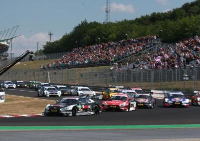Audi Driver René Rast Clinches DTM Lead