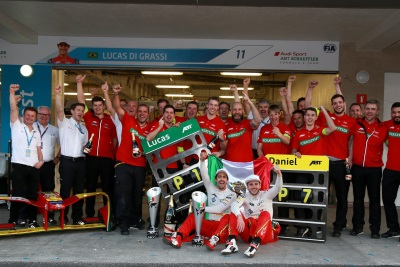 Spectacular Victory For Audi Driver Di Grassi In Mexico City