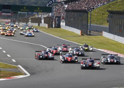 AUDI SECOND AT FUJI AFTER STRONG BATTLE