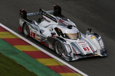 Audi In Grid Positions One To Three At Spa