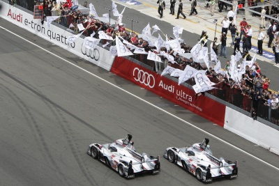LOOK BACK: AUDI SETS MILESTONES WITH FIRST HYBRID VICTORY AT LE MANS IN 2012