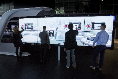 REDESIGNED AUDI LOS ANGELES AUTO SHOW STAND FEATURES NEW INTERACTIVE MURAL