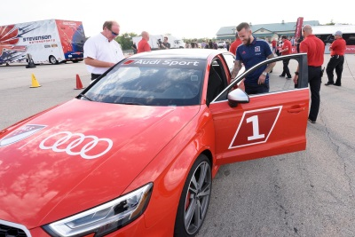 Audi Hits The Track With Major League Soccer All-Stars In Chicago