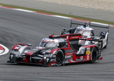 GOOD TEAM PERFORMANCE BY AUDI IN HOME ROUND