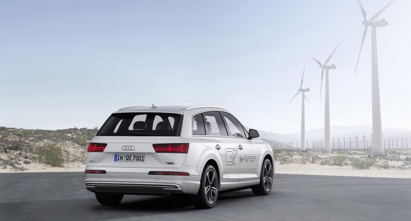 AUDI Q7 E-TRON 3.0 TDI QUATTRO MOVES CLOSER TO HOME