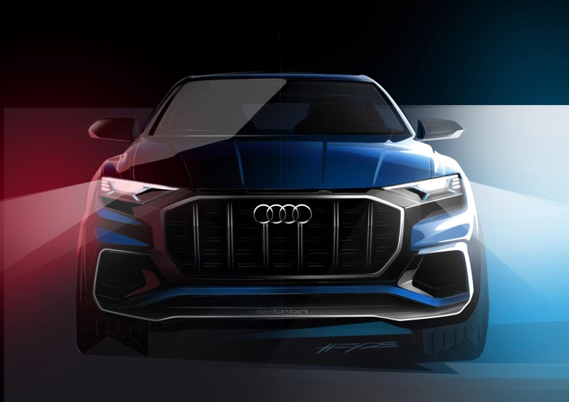 Audi Q8 concept car to be revealed at the 2017 North American International Auto Show