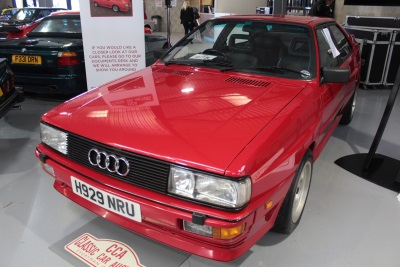Audi Quattro Smashes Record At Classic Car Auctions' September Sale