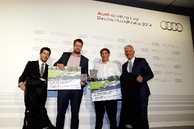 Audi quattro Cup: winners have been determined