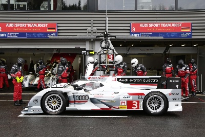 Audi Goes To Le Mans Aerodynamically Optimized