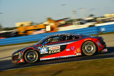 AUDI R8 LMS RACE TEAMS FINISH IN THE TOP TEN AT THE ROLEX 24 AT DAYTONA