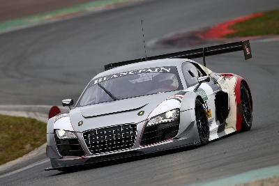 SEVEN AUDI R8 LMS ULTRA CARS ON ADAC GT MASTERS GRID