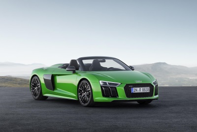 R8 V10 Plus Spyder Makes Us Debut At The Quail, A Motorsports Gathering, During Monterey Car Week