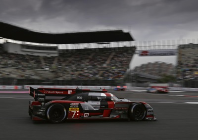 AUDI SECOND IN TURBULENT RACE IN MEXICO
