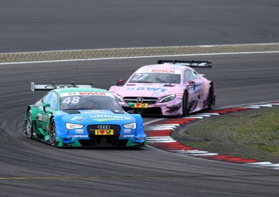 AUDI SHOW AT DTM ANNIVERSARY AT THE NÜRBURGRING