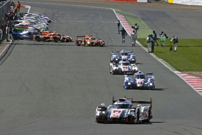AUDI WINS WEC OPENER AT SILVERSTONE