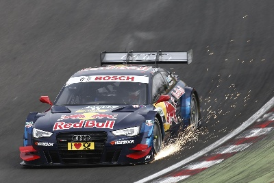 SHEER SUSPENSE: AUDI RS 5 DTM AT LAUSITZ