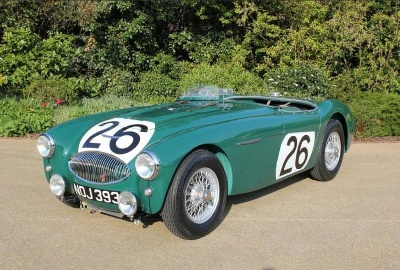 The World's most valuable Austin-Healey restored to its former glory unveiled at Bonhams