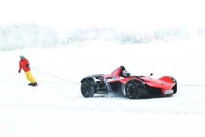 BAC Mono Supercars Hit The Ice In Sweden As Briggs Automotive Company Enjoys Inaugural Mono Ice Driving Experience