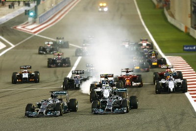 2014 Bahrain Grand Prix - Race