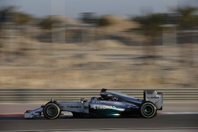 BAHRAIN TEST - DAY TWO